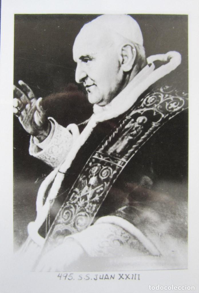 Postales: LOTE 10 POSTALES DE DIVERSOS PAPAS EN LA HISTORIA - Foto 6 - 196019318