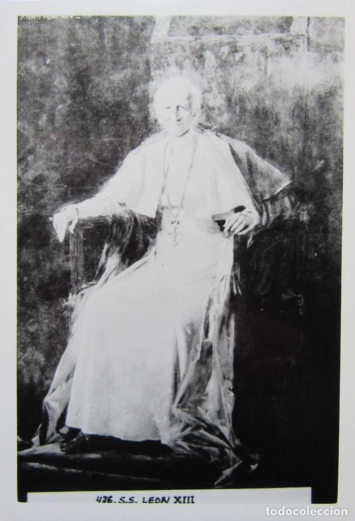 Postales: LOTE 10 POSTALES DE DIVERSOS PAPAS EN LA HISTORIA - Foto 7 - 196019318