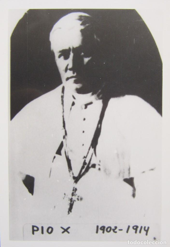 Postales: LOTE 10 POSTALES DE DIVERSOS PAPAS EN LA HISTORIA - Foto 8 - 196019318