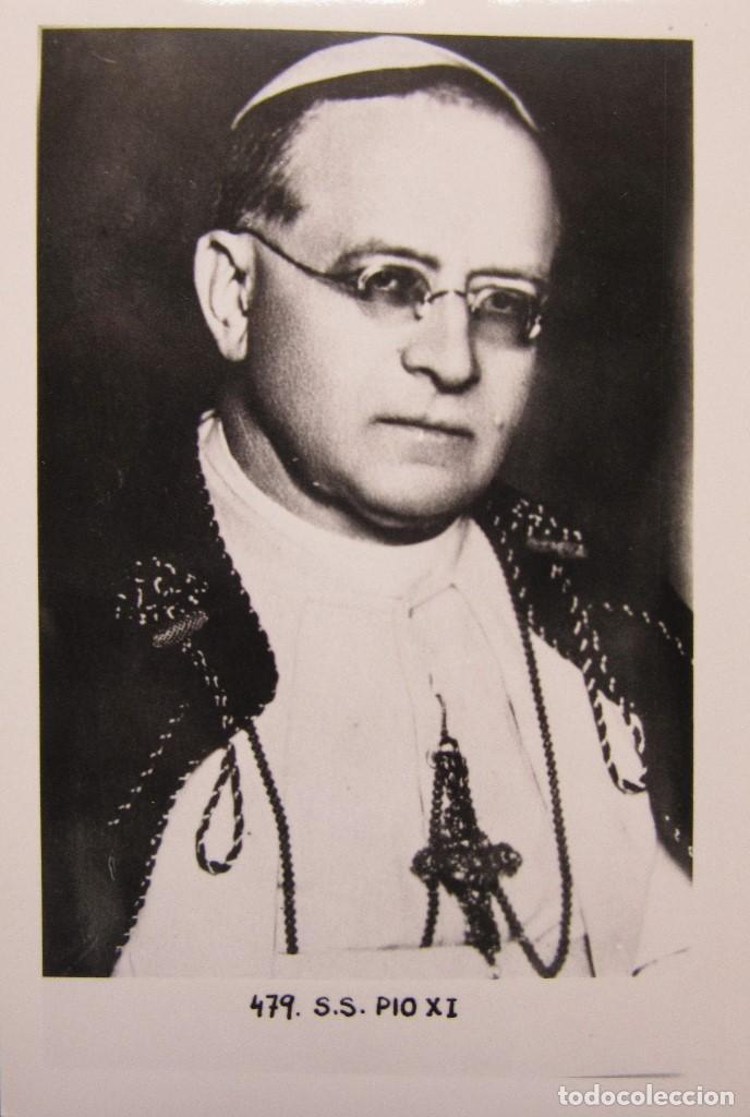 Postales: LOTE 10 POSTALES DE DIVERSOS PAPAS EN LA HISTORIA - Foto 9 - 196019318