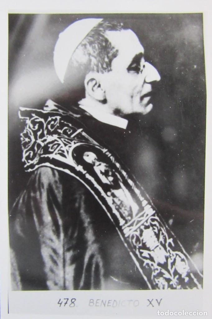 Postales: LOTE 10 POSTALES DE DIVERSOS PAPAS EN LA HISTORIA - Foto 10 - 196019318