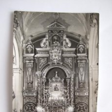 Postales: FOTOGRAFIA DE FOTO MOLINA - MALAGA - IGLESIA DE SAN JUAN - VIRGEN DEL PERPETUO SOCORRO - 18X11. Lote 196339368