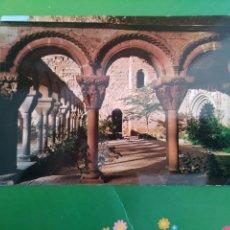 Postales: N° 1 CLAUSTRO ROMANICO SIGLO XI SAN JUAN DE LA PEÑA PIRINEO ARAGONÉS. Lote 196556252