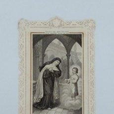Postales: ESTAMPA PUNTILLA SANTA TERESA DE JESÚS. Lote 198216037