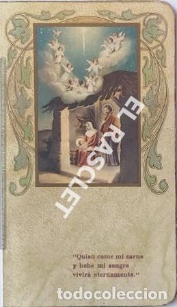 ANTIGÚA TARJETA RECORDATORIO PRIMERA COMUNIÓN (Postales - Postales Temáticas - Religiosas y Recordatorios)