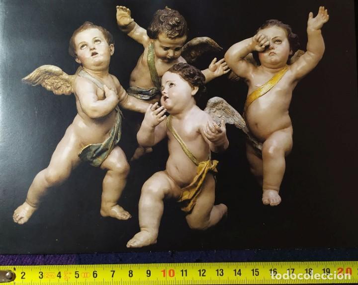 POSTAL ESCULTURAS SALZILLO 01 ANGELES (Postales - Postales Temáticas - Religiosas y Recordatorios)