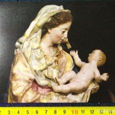 Postales: POSTAL ESCULTURAS SALZILLO 04 VIRGEN NIÑO JESUS. Lote 198860301