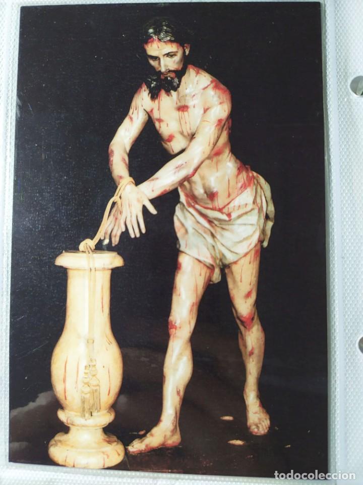 POSTAL SANTISIMO CRISTO DE LA COLUMNA PLEGARIA CRISTO AMARRADO JUMILLA 02 (Postales - Postales Temáticas - Religiosas y Recordatorios)