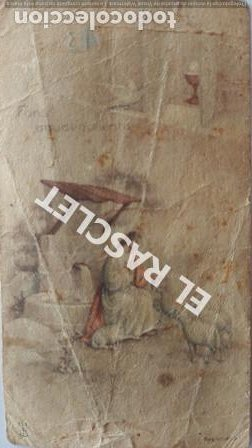 ANTIGUO RECORDATORIO PRIMERA COMUNIÓN DEL AÑO 1943 (Postales - Postales Temáticas - Religiosas y Recordatorios)