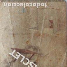 Postales: ANTIGUO RECORDATORIO PRIMERA COMUNIÓN DEL AÑO 1943. Lote 198929948