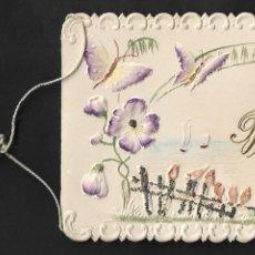 Postales: CUBA - LA HABANA - RECUERDO DEL BAUTIZO - IGLESIA DE JESÚS DEL MONTE - AÑO 1909 - 12,5 X 9 CM.. Lote 198970255