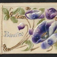 Postales: CUBA - CIENFUEGOS - RECUERDO DEL BAUTIZO - AÑO 1912 - PORTADA CELULOIDE - 11,5 X 7,8 CM.- P30666. Lote 198970533