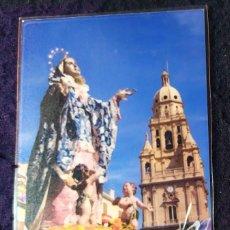 Postales: ESTAMPITA VIRGEN DOLOROSA EN PROCESION SEMANA SANTA 01. Lote 199205740