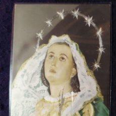Postales: MARIA SANTISIMA DE LOS DOLORES SALZILLO 1756. Lote 199206101