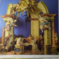 Postales: POSTAL REPRODUCCION BELEN SALZILLO 20 CM DE LARGO. Lote 199320962
