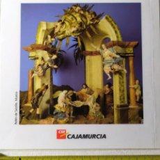 Postales: POSTAL REPRODUCCION BELEN SALZILLO 10 CM DE LARGO. Lote 199321082