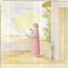 Postales: == Y574 - RECORDATORIO DE PRIMERA COMUNION - 1955. Lote 199348435