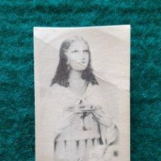 Postales: ESTAMPA RELIGIOSA SANTA LUCÍA V Y M. Lote 200348442