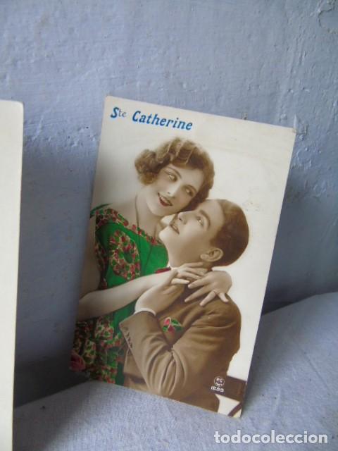 Postales: postal antigua fiesta santa catarina sainte catherine lote de 4 postales años 20 - 30 - Foto 5 - 201104690