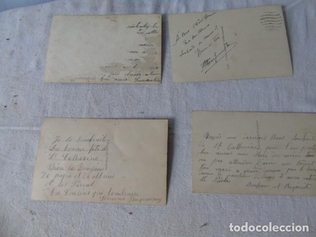 Postales: postal antigua fiesta santa catarina sainte catherine lote de 4 postales años 20 - 30 - Foto 6 - 201104690