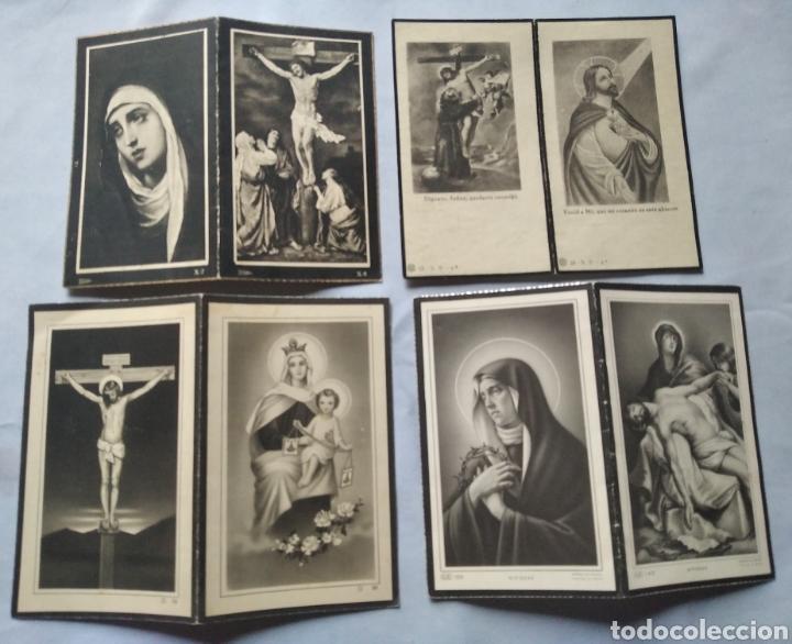 Postales: Lote 20 recuerdos recordatorios de defunción años desde 1939 hasta 1983 - Foto 2 - 201132611