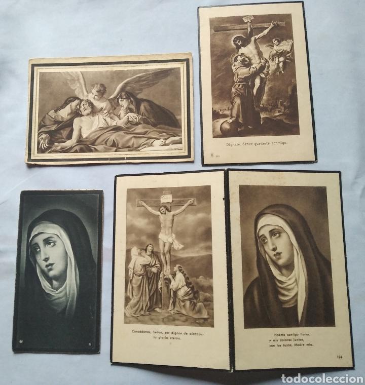 Postales: Lote 20 recuerdos recordatorios de defunción años desde 1939 hasta 1983 - Foto 6 - 201132611