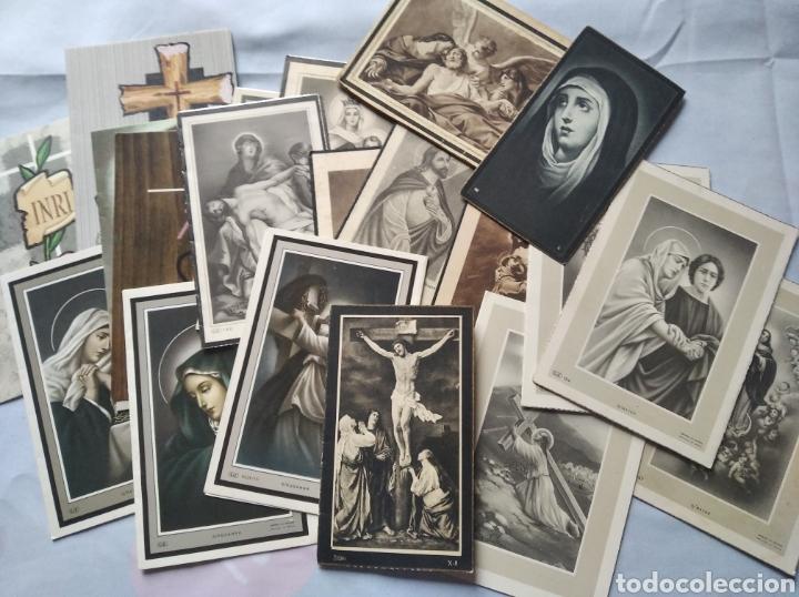 LOTE 20 RECUERDOS RECORDATORIOS DE DEFUNCIÓN AÑOS DESDE 1939 HASTA 1983 (Postales - Postales Temáticas - Religiosas y Recordatorios)