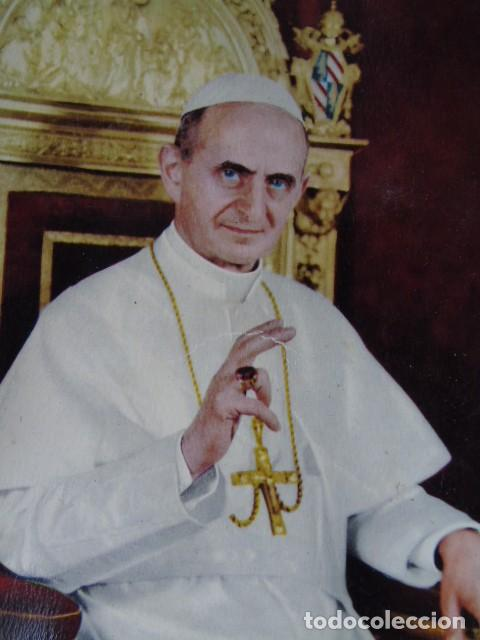 POSTAL PAPA PAULUS PP VI (Postales - Postales Temáticas - Religiosas y Recordatorios)