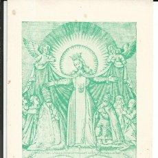 Postales: NOVENA DIA 1, A NTRA. SRA. DE LA MERCED - AÑO 1972. Lote 202014978