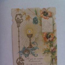 Postales: ESTAMPA DE PRIMERA COMUNION . PUENTE GENIL ( CORDOBA ) , 1928. Lote 245298005