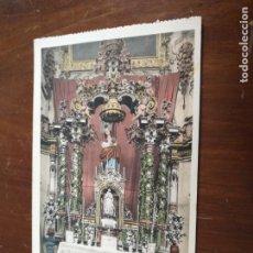 Postales: ANTIGUA POSTAL FOTOGRAFICA - SEMANA SANTA GRANADA VIRGEN ASUNCION ALTAR MAYOR CARTUJA L. ROISIN. Lote 203186727