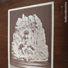 Postales: ANTIGUA POSTAL FOTOGRAFICA - SEMANA SANTA VIRGEN DE MONSERRAT LA MONTAÑA DE CATALUÑA UNION UNIVERSAL. Lote 203209700