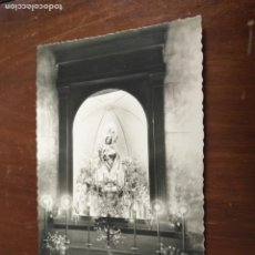 Postales: ANTIGUA POSTAL FOTOGRAFICA - SEMANA SANTA ELDA VIRGEN DE LA SALUD PATRONA, EDICIONES ARRIBAS. Lote 203209732