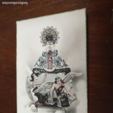 Postales: ANTIGUA POSTAL FOTOGRAFICA - SEMANA SANTA DE CASTELLON VIRGEN DEL LINDO , ROSES. Lote 203209850