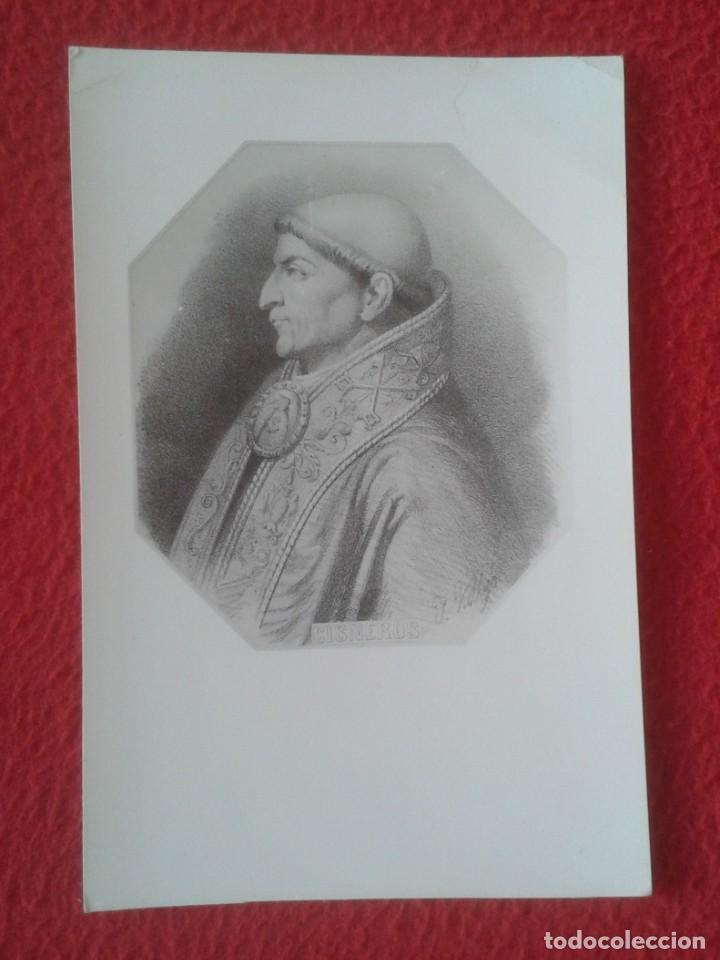 ANTIGUA TARJETA TIPO POSTAL POST CARD TYPE CARDENAL CISNEROS RELIGIÓN ESPAÑA SPAIN VER FOTOS........ (Postales - Postales Temáticas - Religiosas y Recordatorios)
