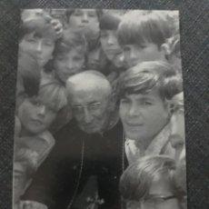 Postales: ARZOBISPO MARCELINO OLAECHEA . SEMINARIO SALESIANO DE CAMPELLO .1972. Lote 204706763