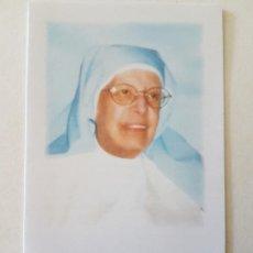 Postales: MADRE MARIA LUISA DE JESUS Y DEL CORAZON DE JESUS CON ORACION RECORDATORIO. Lote 205593423