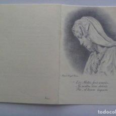 Postales: RECORDATORIO DE SEÑOR FALLECIDO EN 1964 EN CUENCA. Lote 206191213