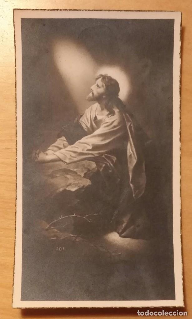 Postales: RD 27 Antigua Estampa Recordatorio defunción con foto - Mendaro (Guipúzcoa), Enero 1955 - Foto 2 - 206358512