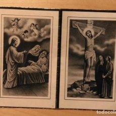 Postales: RD 35 ANTIGUA ESTAMPA RECORDATORIO DEFUNCIÓN CON FOTO - BENET (LÉRIDA) JULIO 1953 - IMP. GÜELL. Lote 206367662