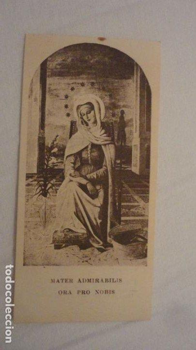 Postales: RECUERDO HIJA DE MARIA.MARGARITA MARIA RIBER Y LOPEZ.CHAMARTIN.1941 - Foto 2 - 206382072