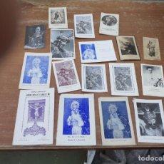 Postales: POSTALES RELIGIOSAS. Lote 206391900