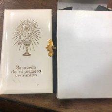 Postales: LIBRO DE COMUNION NUEVO A ESTRENAR. Lote 206569005