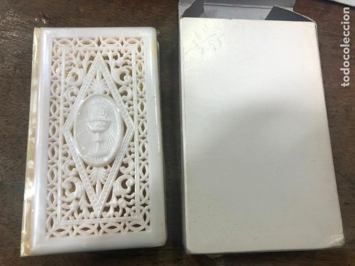LIBRO DE COMUNION NUEVO A ESTRENAR (Postales - Postales Temáticas - Religiosas y Recordatorios)