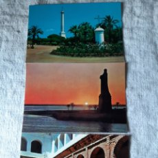 Postales: HUELVA MONASTERIO RÁBIDA .MONUMENTOS COLÓN EDICIONES RO. Lote 206888241