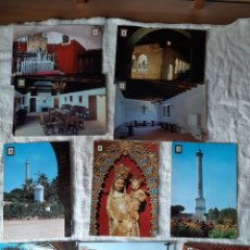 Postales: HUELVA LA RÁBIDA MONASTERIO VIRGEN EDICIONES CASANOVAS. Lote 206888880