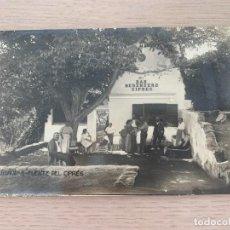 Postales: POSTAL ANTIGUA DE LA FUENTE DEL CIPRÉS DE BUÑOL. Lote 206901122