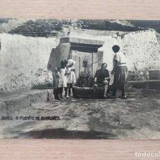 Postales: POSTAL ANTIGUA DE LA FUENTE DE BORRUNES DE BUÑOL. Lote 206901643