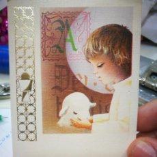 Cartes Postales: RECORDATORIO PRIMERA COMUNIÓN ROBERTO MIGUEL MOLERO ARRIBAS 1982 BURGOS IGLESIA ASUNCIÓN DE NUESTRA. Lote 207199443