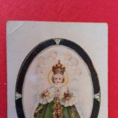 Postales: POSTAL ANTIGUA ESTAMPA DIVINO NIÑO JESUS MILAGROSO DE PRAGA ORIGINAL PRJ 59. Lote 207277055
